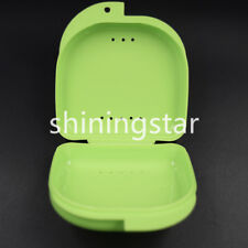 1 * Dental Orthodontic Retainer Denture Storage Case Box Mouthguard Container
