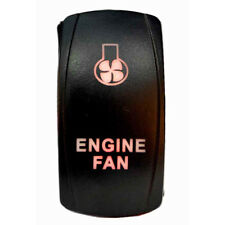 Tuff LED Lights - 2 way Rocker Green Engine Fan LED Switch High Quality