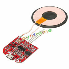 Qi Wireless Charger PCBA Circuit Board Coil Wireless Charging Micro USB Port MA