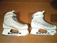 Bauer Flow Rec White Womens Ice Skates US 10 UK 8 EURO 42