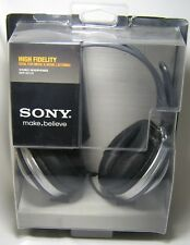 SONY HEADPHONE SET MDR-XD100 VIDEOGAME WiFi WIRED HIGHFIDELITY MUSIC SOUND NEW