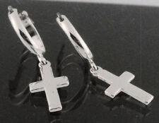 Religious Drop/Dangle Sterling Silver Fine Earrings