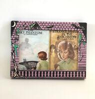 Nancy Drew Mysteries Sky Phantom Message Box Book Set Scary Mystery Vintage