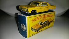 Matchbox 1-75 Modellauto RW No.20c Chevrolet Taxi 1965/69 mit Repro Box