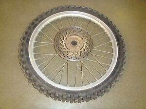 Honda CR125 CR250 CRF450X CRF250R CRF250X CRF450R Front Wheel Rim/wheel sub Assy