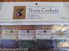 Cleo NC209E Bewitching Pixies Nora Corbett Cross Stitch Embellishment Pack