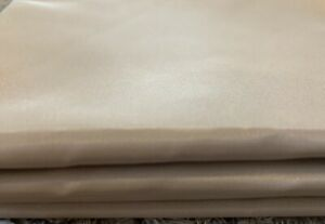 Beige taffeta fabric 2.5 Metres , dress/lining fabric/