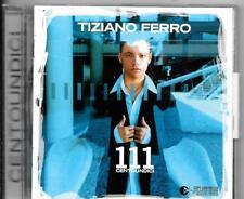 CD ALBUM 14 TITRES--TIZIANO FERRO--111 CENTOUNDICI--2003