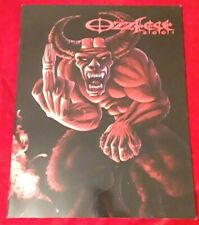 Vintage Ozzfest 2001 Rock Concert Tour Program - Ozzy - Black Sabbath + Bonus