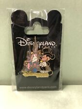 Disneyland Paris - Mickey Mouse And Castle Pin