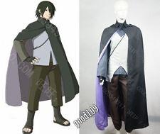 2016 Naruto the Movie Uchiha Sasuke Cosplay Costume Any Size