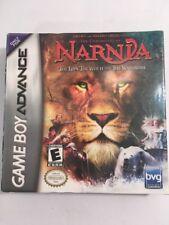 Brand New/ Sealed Nintendo Advance Chronicles Of Narnia Lion, Witch, Wardrobe *