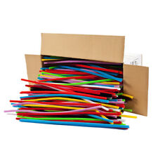 """Charles Leonard - Chenille Stems 12""""Assorted Colors - 1000 Count"""