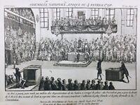 Assemblée Nationale en 1790 Louis 16 et la Constitution Député Nation Révolution