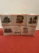 Lot Set of 5 Liberty Falls The Americana Collection with Original Boxes