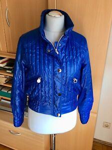 LUHTA Damen Stepp Biker Jacke blau 36 S