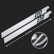 430mm Carbon Fiber Main Rotor Blades For Align Trex 500 RC Hubschrauber