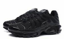 BRAND NEW NIKE AIR MAX TN PLUS TRAINERS  IN FULL BLACK SIZES UK 6-7-8-9-10-11