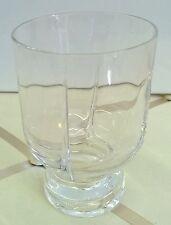 ARNOLFO DI CAMBIO 10 bicchieri cristallo design '70 NO jo ponti alessi enzo mari