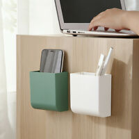Wall Mounted Storage Box Office Pen Stand Holder Home Remote Control Storage box