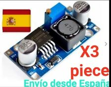 3x Convertidor DC 3A 1,25-32V Regulable LM2596 STEPDown Modulo Fuente Arduino A0