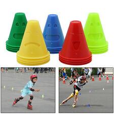 20pcs Human-Figure Hole Anti-Wind Agility Training Skating Marker Marking Cones