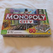 2008 MONOPOLY CITY BOARD GAME JEU HASBRO 3D BUILDINGS COMPLETE FRENCH FRANCAIS
