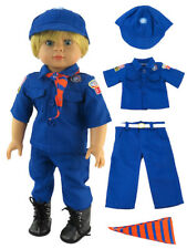 """Cub Scout Boy Scouts Pant Outfit Fits 18"""" American Boy or Girl Doll Clothes"""