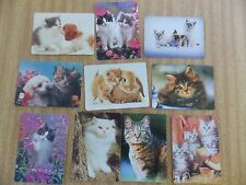 Swap playing cards   10 Modern Wides    Cats  #1
