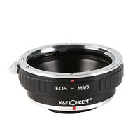 Adapter for Canon EOS EF EF-S Lens to Micro 4/3 M4/3 Mount Panasonic Camera