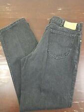 Lee Jeans Vintage Mens 36x32 Black Straight Leg Jeans Made in USA VTG