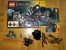 LEGO 9470 The Lord of the Rings Shelob Attacks .No minifigures WITH box
