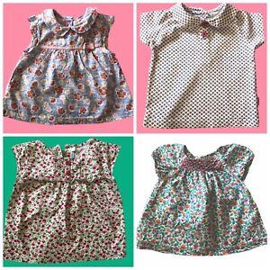 Girls Bundle Jojo Maman Bebe 12-18 Months Summer Tops