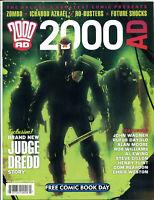 2000 AD, NM, FCBD, Judge Dredd, Alan Moore, Steve Dillon, John Wagner, 2012