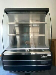 Turbo Air Grab and Go Refrigeration Unit- Black and Silver Model # TOM-40MB
