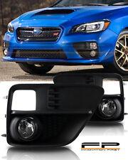 For 2015 Subaru Impreza WRX STi Clear Fog Light Kit Wiring Switch Complete Kit