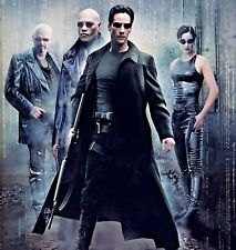 The Matrix Script. Keanu Reeves. Laurence Fishburne, Carrie-Anne Moss.