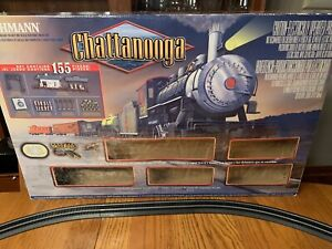 Bachmann HO Scale Chattanooga Electric Train Set As is See Description