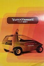 "*Rare* 2001 Weezer+Get Up Kids Poster 13""x19"" Yahoo! Outloud Tour Free Shipping!"