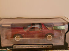 GREENLIGHT 1989 PONTIAC TRANS AM GTA RED 1:18 RARE