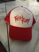 Retro Fatal Fury Terry Bogard Red Cap Hat Andy King of Fighters SNK snapback