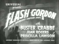 Flash Gordon - Classic Movie Cliffhanger Serial DVD Buster Crabbe Jean Rogers