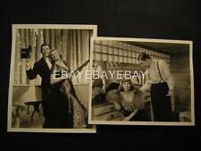 30s George Murphy Top Of The Town VINTAGE DBW 2 Movie PHOTO LOT 609D