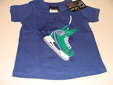 2012-13 Vancouver Canucks Shoulder Blades T Shirt Infant 24M Kids NHL Hockey