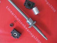 1 ballscrew RM2005-1500mm-C7 ballscrews + bearing mount BK15 BF15 + coupling