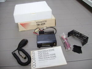 Kenwood TM-431A 440Hz FM transceiver