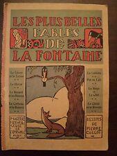 LES PLUS BELLES FABLES DE LA FONTAINE, Pierre Collot