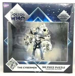 BBC Doctor Who The Cybermen Special Edition 500 pc Jigsaw Puzzle, NEW and SEALED