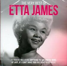 ETTA JAMES - THE VERY BEST OF (NEW SEALED CD) At Last, I Just Want to Make Love