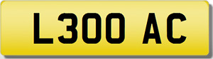 AC  OAC 30 THIRTY INITIALS Private CHERISHED Registration Number Plate 300